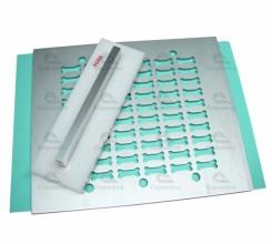 Tableteiro Formato Osso em Duralumínio